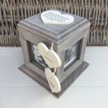 Shabby Chic PERSONALISED Rustic Wood Auntie Aunty Aunt Gift ANY NAME Photo Cube - 232996329224